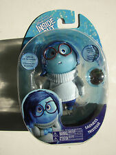 "DISNEY PIXAR INSIDE OUT 4"" LIGHT UP FIGURE SADNESS WITH MEMORY SPHERE NEW MOC!"