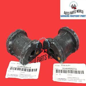 GENUINE OEM SUBARU 06-14 TRIBECA REAR STABILIZER BAR BUSHING SET 2 X 20464XA01A