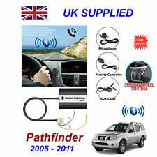 For Pathfinder Bluetooth Hands Free Phone AUX Input MP3 USB 1ACharger Module