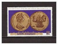 16273) COOK ISL.  MNH** Nuovi** 1975 Cooks 2nd travel - coin 1v