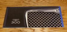 Original 2010 Chrysler 300 Sales Brochure 10 SRT8 Touring Limited 300C