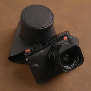 Q2 Full Case Handmade Genuine Leather Camera Case Bag Cover For Leica Q2