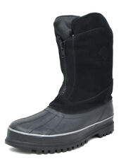 Mens Outdoor Winter Warm Snow Boots Waterproof Zip Hiking Boots Clearance Sale