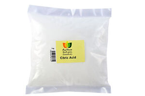 CITRIC ACID (Fine & Coarse) - Food Grade, Multi Size, FREE UK P&P, Bath Bomb