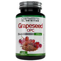 Grapeseed OPC 120 Tabletten je 200mg Traubenkernektrakt Hochdosiert