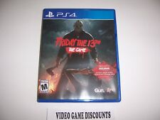 Original Box Case Replacement Sony PlayStation 4 PS4 FRIDAY THE 13TH