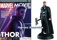 MARVEL MOVIE COLLECTION #95 THOR FIGURINE AVENGERS INFINITY EAGLEMOSS NEW