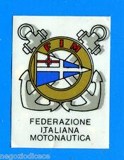 CAMPIONI DELLO SPORT 1966/67 - Figurina/Sticker - FIM STEMMA/BADGE -Rec