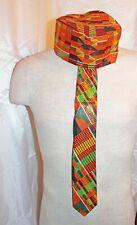 KENTE KUFI HAT CAP AFRICAN PRINT Style 2 oversized