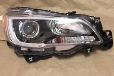 2015 2016 2017 Subaru Legacy Outback Right RH Halogen Headlight Led Drl Oem