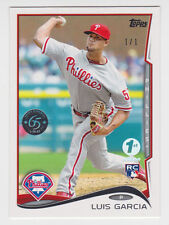 LUIS GARCIA 2014 Topps 1st Edition Transcendent 65th Anniversary Rookie 1/1 RC