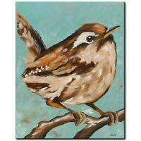 ORIGINAL Acryl Bild Gemälde Abstrakt Malerei Kunst Modern UNIKAT Vogel Künstler