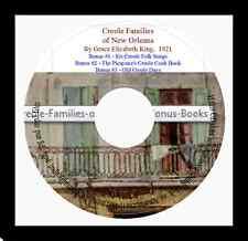 Creole Families of Louisiana + Bonus Books