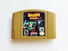 Smash Remix Nintendo 64 Mod / Hack of Smash Bros N64  (USA Seller)