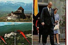 Vintage Postcard Franz Joseph II, Prince of Liechtenstein & Princess Georgina