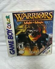 Warriors of Might and Magic Gameboy Color Nintendo GBC BRAND NEW SEALED