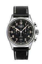 Men's Watch Iron Annie Flight Control Quartz, 5186-2, Aviator Watch, Black
