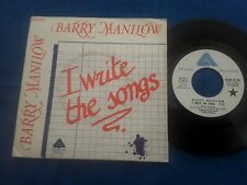 "BARRY MANILOW  I write tge songs  1975  FRENCH  Single 7""  VG  / EX"
