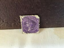 More details for south australia queen victoria 2 pence stamp 1868 purple