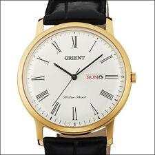 Orient White Capital 2 Quartz Dress Watch, 40.5mm Case, Dome Crystal #UG1R007W