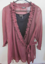 Evening, Occasion Wrap Tops & Blouses for Women