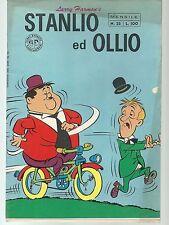 STAN LAUREL OLIVER HARDY-STANLIO E OLLIO # 25  - 1970 - FRATELLI SPADA-SM27
