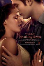 Twilight movie poster (a) Kristen Stewart, Rob Pattinson, Breaking Dawn Pt 1
