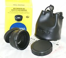 SONY Wide Conversion Lens VCL-RO752 / Video 8 [ To Fit 52mm ] Lens power: x0.7