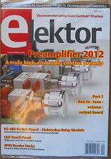 Elektor Electronics Hobby Project Magazine April 2012 Vol 4  No 40 New Sealed
