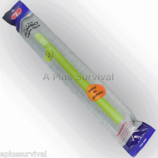 "12 Green 15"" 12 Hour Light Sticks Glow Stick Signal Camping Hunting Survival Kit"