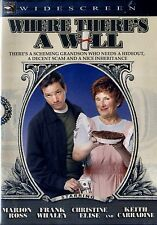 BRAND NEW COMEDY DVD //  WHERE THERES A WILL // MARION ROSS, KEITH CARRADINE