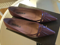Ladies Leather Upper Shoes Size 4.5 By Carvela