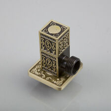 """Antique Brass Water Outlet Faucet Accessories Control valve 1/2"""" Solid Brass"""