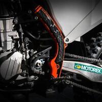 ACERBIS X-GRIP FRAME GUARD PROTECTORS ORANGE FITS KTM SXF 250 2016 2017 2018