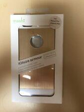 MOSHI iGlaze Armour - Premium Metallic Case For iPhone 6+ & 6s Plus - Gold/White
