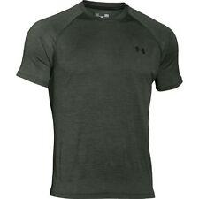 Under Armour Men's UA Tech Short Sleeve T-Shirt 1228539-994 Dark Green  XXL  2XL