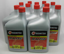 Idemitsu 20W-50 Oil for Rotary Engines-12 quarts