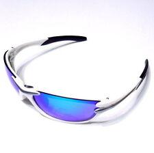 gobike88 Sky Eyewear Sport SunGlasses 100% UV protection, 22g, Silver/White, D17