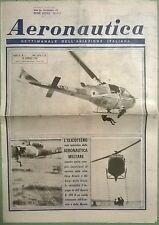 AERONAUTICA SETT.LE N.3 DEL 18/01/64 L'ELICOTTERO RESO OPERATIVO DALL'A.M. - 164