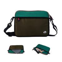 Slim Messenger Bag w/Pockets fit Apple iPad Air, iPad Air 2, iPad Pro 9.7 Inch