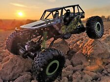 RC 2,4 GHz rock Crawler the Beast 4wd ruedas remoto auto monstruo Truck