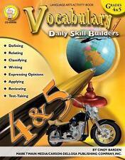 Vocabulary, Grades 4 - 5 [Daily Skill Builders] , Barden, Cindy