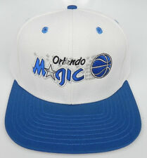 ORLANDO MAGIC NBA VINTAGE SNAPBACK RETRO 2-TONE CAP HAT NEW! WHITE/ROYAL ADIDAS