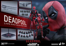 Hot Toys Deadpool 1/6 Sixth Scale Figure MMS397 New w/ Brown shipper US Seller