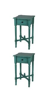 Privilege International Accent Stand with Drawer - 15.5 in.