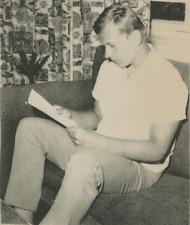 Peter Dubcek  Vintage silver print,Peter Dubcek, 19-year-old son of Czechoslov