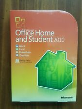 NEW Microsoft Office 2010 Home and Student Family Pack for 3 PCs SEALED BOX