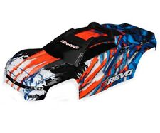 Traxxas 8611A E-Revo 2.0 Body orange w/ Decal E-Revo VXL