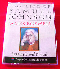 James Boswell The Life Of Samuel Johnson 2-Tape Audio Book David Rintoul Biog