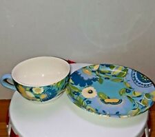 Spode Kim Parker Chicory Hymn Large Breakfast Cup & Saucer